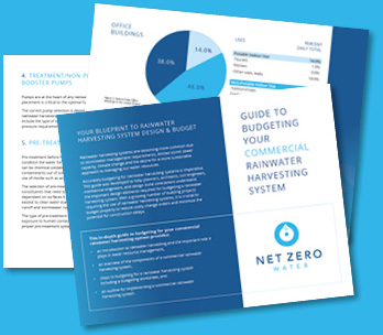 Get your guide to budgeting your Commercial Rainwater Harvesting System